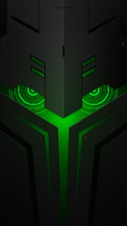 Xiaomi Black Shark Helo, abstract, Android 8.0, HD (vertical)