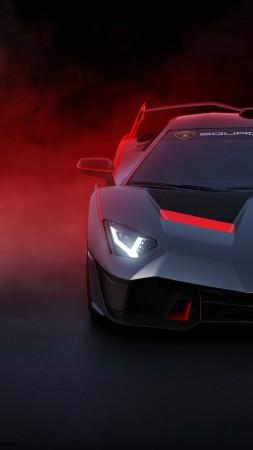 Lamborghini SC18 Supercar 2018 Cars 4K Vertical