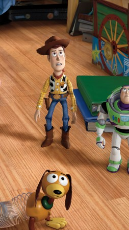 Toy Story 4, 4K (vertical)