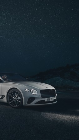 Bentley Continental GT Convertible, 2019 Cars, 4K (vertical)