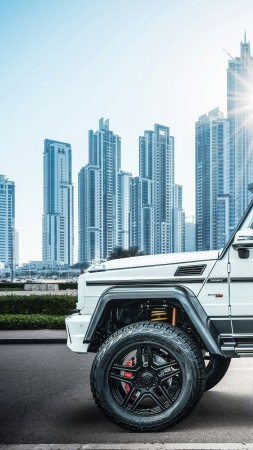 Brabus 700 Final Edition, SUV, 2019 Cars, 4K (vertical)