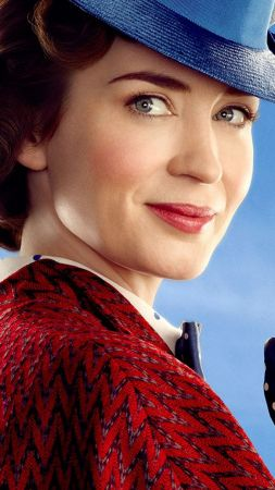 Mary Poppins Returns, Emily Blunt, poster (vertical)