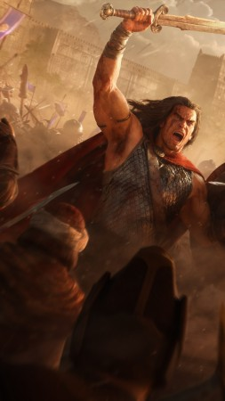 Conan Unconquered, poster, 5K (vertical)
