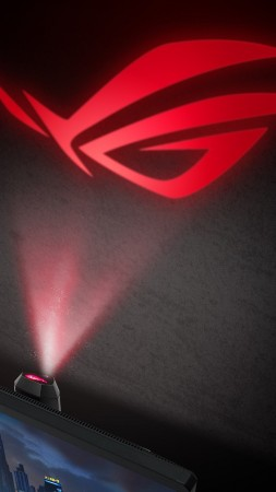 ASUS ROG Light Signal, CES 2019 (vertical)