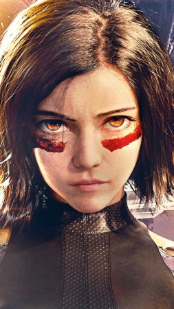 Alita: Battle Angel, Rosa Salazar, HD (vertical)