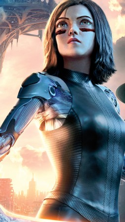 Alita: Battle Angel, Rosa Salazar, 5K (vertical)