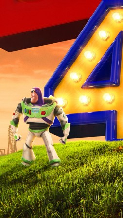Toy Story 4, poster, HD (vertical)