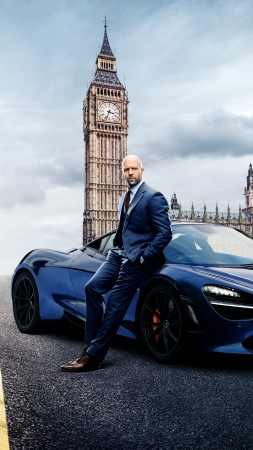 Hobbs And Shaw, Dwayne Johnson, Jason Statham, poster, 4K (vertical)