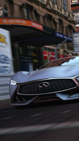 Infiniti, 4k, HD wallpaper, Vision, Gran Turismo, concept, metallic, matt (vertical)