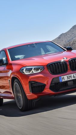 BMW X4 M Competition, Geneva Motor Show 2019, SUV, 2020 Cars, 5K (vertical)