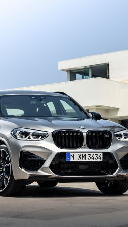BMW X3 M Competition, Geneva Motor Show 2019, SUV, 2020 Cars, 5K (vertical)