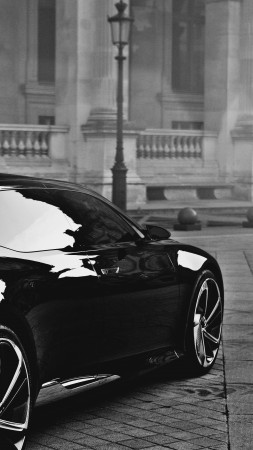 Citroen DS9, supercar, NUMERO 9, concept, luxury cars, 2015 car, Citroen, Metropolis, back (vertical)