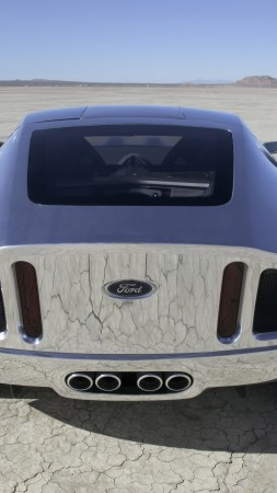 Ford Shelby GR-1, concept, Ford, Shelby, GT, Gran Turismo, sports car, supercar, back (vertical)