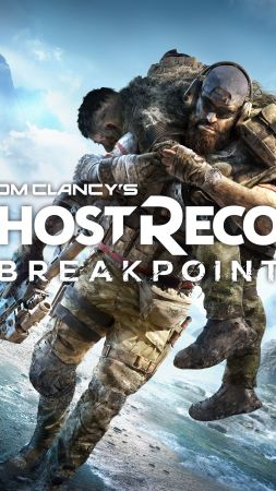 Tom Clancy's Ghost Recon Breakpoint, poster, 4K (vertical)