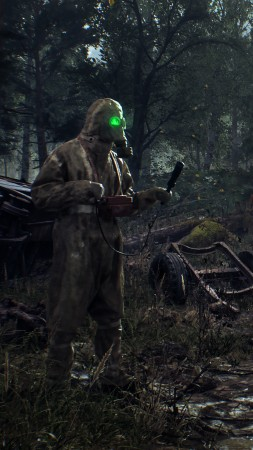 Chernobylite, screenshot, 4K (vertical)