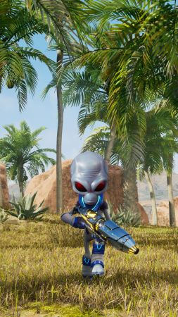Destroy All Humans!, E3 2019, screenshot, 5K (vertical)