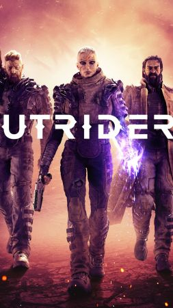 Outriders, E3 2019, poster, 4K (vertical)