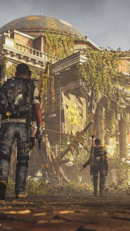 Tom Clancy's The Division 2 Episodes, E3 2019, screenshot, 4K (vertical)