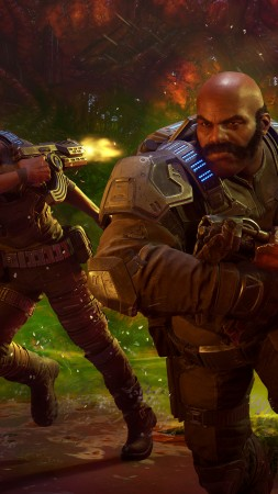 Gears 5, E3 2019, screenshot, 4K (vertical)