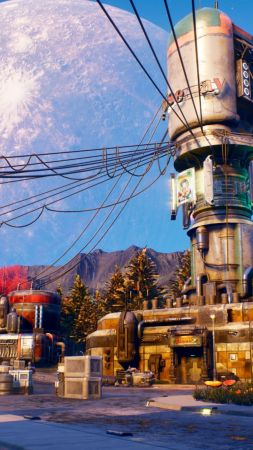 The Outer Worlds, E3 2019, screenshot, 4K (vertical)