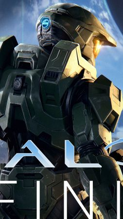 Halo Infinite, E3 2019, poster, 5K (vertical)