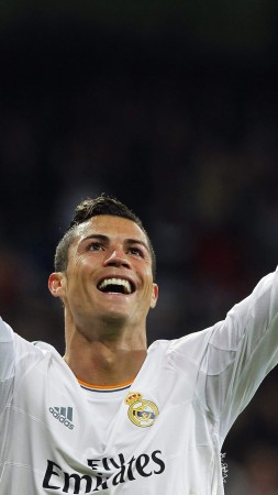 "football player, Cristiano Ronaldo, Portugal, ""Real Madrid"" (vertical)"