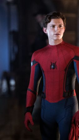 Spider-Man: Far From Home, Tom Holland, 5K (vertical)