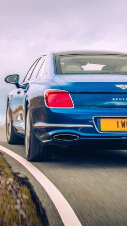 Bentley Flying Spur, luxury cars, 2020 cars, 4K (vertical)