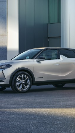 DS 3 Crossback E-Tense, 2020 Cars, crossover, 4K (vertical)