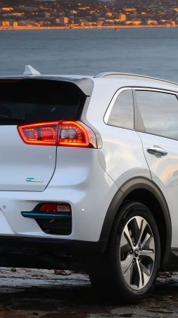 Kia e-Niro, electric cars, 4K (vertical)