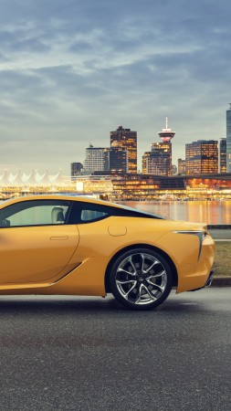 Lexus LC 500 Inspiration Series, 2020 Cars, 8K (vertical)