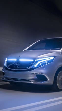 Mercedes-Benz EQV, 2019 cars, electric cars, 5K (vertical)