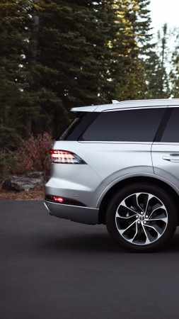 Lincoln Aviator Grand Touring, SUV, 2020 cars, 4K (vertical)
