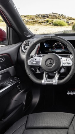 Mercedes-Benz GLB35 AMG 4Matic, SUV, 2020 cars, 8K (vertical)