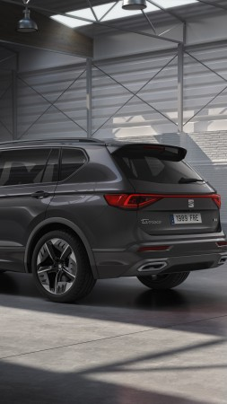 Seat Tarraco FR PHEV, electric cars, SUV, 2020 cars, 5K (vertical)