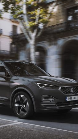 Seat Tarraco FR PHEV, electric cars, SUV, 2020 cars, 8K (vertical)