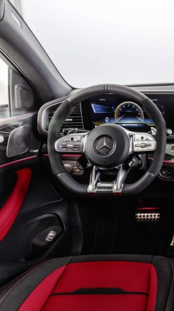 Mercedes-Benz GLE AMG Coupe, 2020 cars, SUV, 8K (vertical)