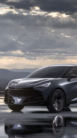 Cupra Tavascan, SUV, electric cars, 2019 cars, 5K (vertical)