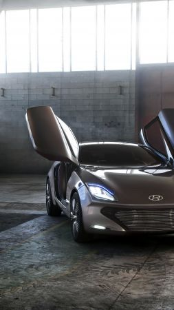 Hyundai i-Oniq, electric cars, 4K (vertical)
