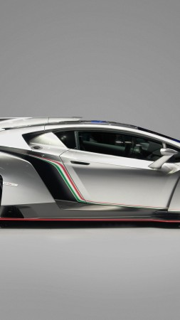 Veneno, 4k, HD wallpaper, Lamborghini, supercar, metallic (vertical)