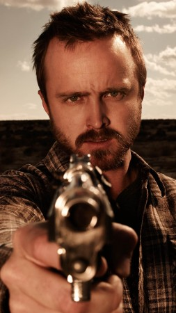 El Camino: Breaking Bad, Aaron Paul, 4K (vertical)
