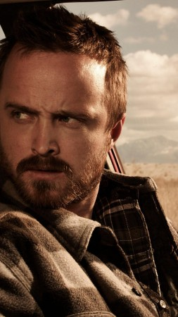 El Camino: Breaking Bad, Aaron Paul, Bryan Cranston, 4K (vertical)
