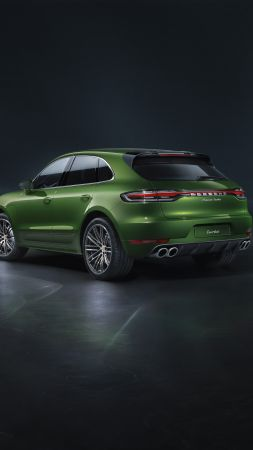 Porsche Macan Turbo, 2019 cars, SUV, crossover, 5K (vertical)