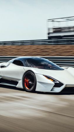 SSC Tuatara, 2019 cars, supercar, 5K (vertical)