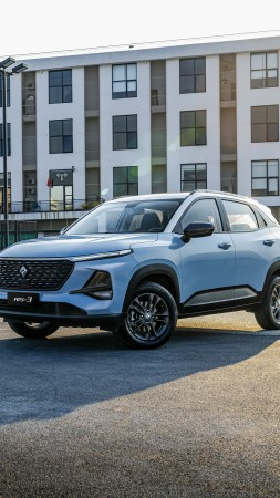Baojun RS-3, SUV, 2019 cars, 4K (vertical)
