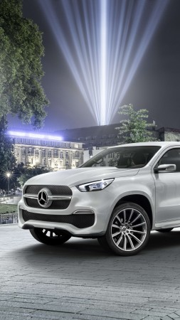 Mercedes-Benz X350, SUV, 2019 cars, 4K (vertical)