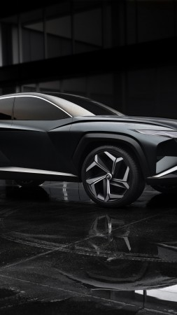 Hyundai Vision T, SUV, electric cars, 4K (vertical)