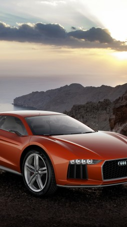 Audi Nanuk Quattro, concept, Audi, supercar, speed, sports car, luxury cars, nature, review (vertical)