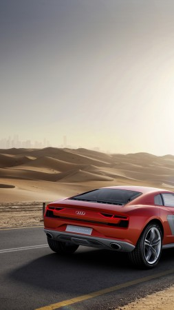 Audi Nanuk Quattro, concept, Audi, supercar, speed, sports car, luxury cars, nature, review, back (vertical)