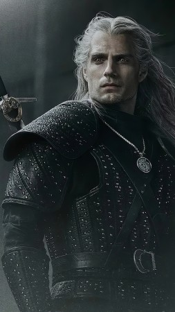 The Witcher, poster, Henry Cavill, 5K (vertical)